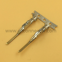 Male unsealed copper alloy auto terminal