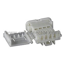 (98817-1040) white 4 pin female auto plastic waterproof electrical cable wire connector