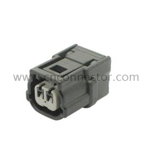 2 way female waterproof electrical connector 6189-7052