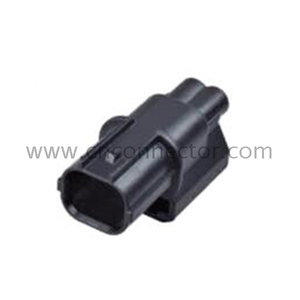 2 way male waterproof automotive connector 6188-0589