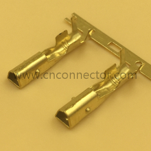 2.3mm gold plated car wire harnness terminal