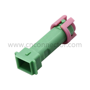 male 1 way auto connector with terminal